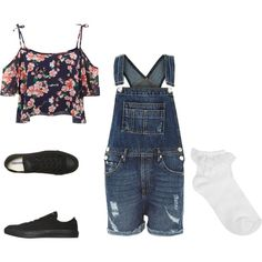 DJ Tanner Disney Outfit by steph-choriatis on Polyvore featuring Parisian, River Island, Oasis and Converse