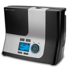 Bionaire Digital Timer Humidistat Cool and Warm Dual Mist Ultrasonic Humidifier