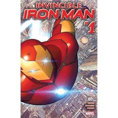 Invincible Iron Man (2015-) #1: Exploding out of the pages of Secret Wars one of the most popular super heroes in the world gets a gigantic new series. From the creators that brought you Ultimate Spider-Man comes new armor a new supporting cast new villains and a new purpose that is going to tear itself across the entire Marvel Universe and beyond. With a shocker of a last page that will have everyone talking and the return of one of Tony's biggest nemeses you will not want to miss this…
