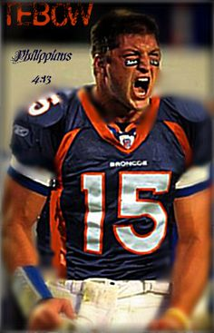 """They said he'd never be an NFL quarterback.......he just led the Broncos to a playoff victory in a seemingly lost season. What impossibles will you overcome? Work to be great, no matter what """"they"""" say."""