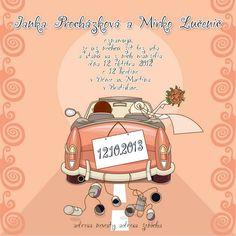 kreativní svatební oznámení http://www.svatba-oznameni.cz/