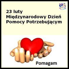 TUPUŚ POMAGA: 23 luty - Międzynarodowy Dzień Pomocy Potrzebujący...
