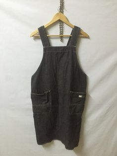 "ISSEY MIYAKE iM Design Studio Jeans Denime Apron Front Pocket Logo Adult Size Armpit 19"" Rare Yohji Yamamoto Comme des Garcons CDG"