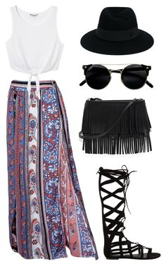 Dance the Night Away by sololu on Polyvore featuring polyvore fashion style Monki Steve Madden White House Black Market Maison Michel clothing