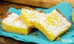 Easy Peasy Lemon Bars:These mouth-watering lemon bars are bright and vibrant. They are utterly delicious!