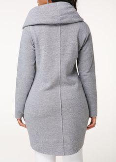 Outwear Coats, Long Coats For Women, Long Coat For Women, Short Jackets For Women Sport Wear, Grey Sweatshirt, Winter Wear, Fashion Dresses, Cute Outfits, Clothes For Women, Mj, My Style, Sweatshirts