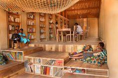 Bibliothèque de Muyinga au BURUNDI par BC ARCHITECTS | Archicaine