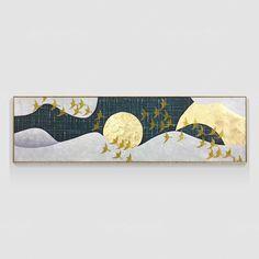 Original Flying birds Abstract painting Acrylic Painting On Canvas Wall Art home Decor modern art F Canvas Designs, Gold Art, Texture Art, Pictures To Paint, Acrylic Painting Canvas, Large Wall Art, Wall Canvas, Modern Art, Flying Birds