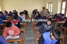 After 4 months of  unrest in Valley  the annual board examinations  commence  in  South Kashmir Anantnag....Excelsior\Sajad Dar