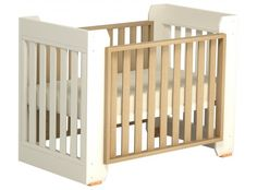 Boori Omni- This versatile, convertible crib is available in Almond/While Fusion and convertible into a toddler bed as your little one grows. http://naturalchildworld.com/2013-voting-now-open