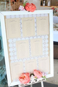 LOVE this by My Little Jedi.  Easy to DIY  by carefully lining up doilies and using as a background for your table seating plan <3