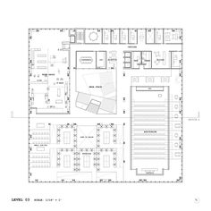 This project seeks to take advantage of the fact that this is a multi-disciplinary school School Floor Plan, Office Floor Plan, School Plan, Library Plan, College Library, Library Design, Architecture Building Design, Concept Architecture, Architecture Office