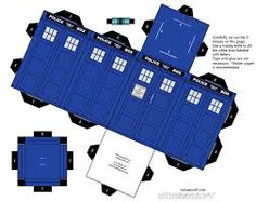 While celebrating the Doctor, let's build a paper Tardis ^_^ New TARDIS - Doctor Who Fan Art - Fanpop fanclubs The Tardis, Doctor Who Party, Doctor Who Fan Art, Doctor Who Tardis, Eleventh Doctor, Toy Art, Dr Who, Metroid, Paper Toys