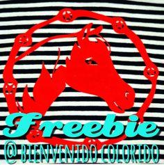 bienvenido colorido: Pferdeliebe: Freebie!
