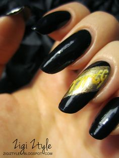 ZigiZtyle: Inspiration Nails - The One Ring