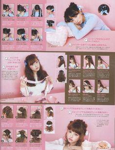 Liz Lisa x My Melody mook vol. Kawaii Hairstyles, Pretty Hairstyles, Braided Hairstyles, Asian Hairstyles, Blonde Hairstyles, Layered Hairstyles, Medium Hairstyles, Wedding Hairstyles, Pelo Lolita
