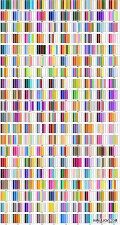 Цветовые комбинации - сочетание цветов и оттенков