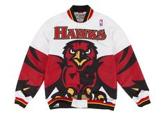 6a2f8855d9a 1995-96 Authentic Warm Up Jacket Atlanta Hawks