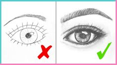 DOs & DON'Ts: How to Draw Realistic Eyes Easy Step by Step | Art Drawing...