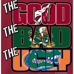 FSU Football Logo   Florida State Seminoles FSU Football T-Shirts - The Good The Bad The ...