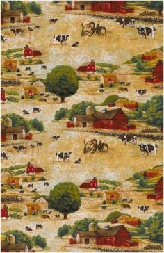 Old Country Store Fabrics - Timeless Treasures - Novelty Fabric - greg-c9501-natural $8.60/yd