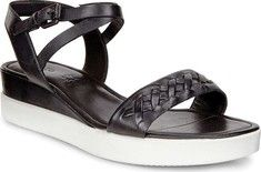 ECCO Touch Braided Plateau Ankle Strap Sandal (Women's)