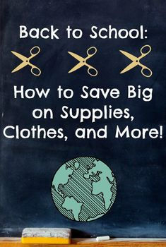 How to save money Back to School shopping. Don't miss these 10 awesome tips - they will save you SO much money on supplies, clothes, snacks and more!
