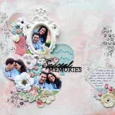 BC   Scrapbook Layout - Special Memories