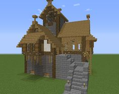 Warhammer Medieval House 7 - GrabCraft - Your number one source for MineCraft buildings, blueprints, tips, ideas, floorplans!