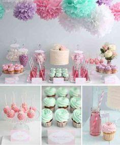 Une D Co De Bapt Me Digne D 39 Une Princesse D Co De Table Sweet Table Sweet Deco And
