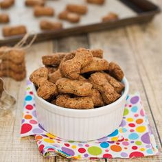 Flax Dog Biscuits {Sweet Pea's KItchen}