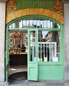 Laduree shop in Paris. ASPEN CREEK TRAVEL - karen@aspencreektravel.com