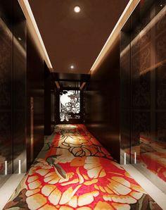 Mira Moon hotel corridor