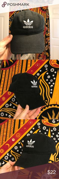 Adidas hat brand new adidas hat! Super sick vintage adidas logo. Never been worn, in perfect condition.  Unisex. Child's size, but fits me. adidas Accessories Hats