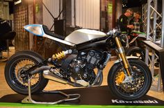 The ER-6 Radicale was prepped by Kawasaki Höly (Germany), tuned to 110 hp and complemented with...