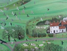 DEE NICKERSON  Flock of Pigeons