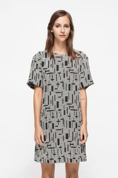 30 Awesome Dresses That Are On Sale Now #refinery29  http://www.refinery29.com/on-sale-winter-dresses#slide-11  Perfect for any casual event....