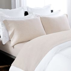 Briarwood Home 100% Cotton Heathered Jersey Sheet Set Size: Queen, Color: Oatmeal