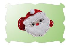 Santa Snap Clip Mini - DigiStitches