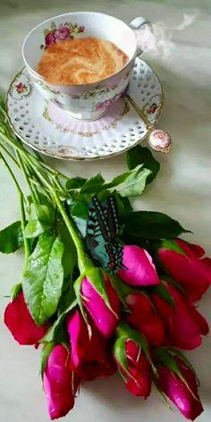 Good Morning Flowers Gif, Good Morning Post, Good Morning Picture, Good Morning Friends, Morning Pictures, Coffee Gif, Coffee Images, Coffee Love, Beautiful Gif