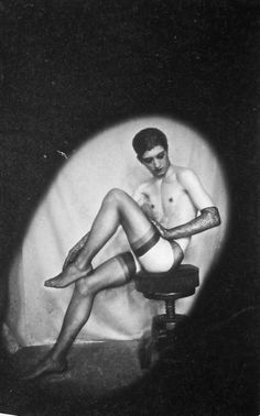 Pierre Molinier Portrait of Luciano Castelli