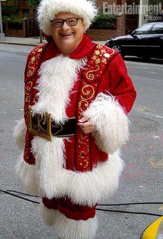 Oct. 16: Wayne Knight as Santa (sans beard) in Broadway holiday season production of ''Elf'': First Look!