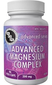 Coming Soon! AOR's Advanced Magnesium Complex contains four bioavailable magnesium sources, provides dually beneficial forms, supports muscle function and cardiovascular health. Get the most out of your magnesium supplement with simply the most advanced magnesium complex available. For more info ask your retailer or please visit our website!