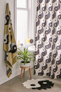 Sky Fit, Uo Home, Bathroom Renos, Viera, Bath Rugs, Yin Yang, Beach Towel, Home Interior Design, Bath Mat