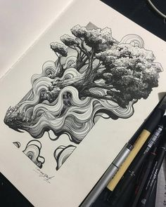#art #artwork #drawing #drawings #ink #penandink #sketchbook #worksonpaper #sketchbookdrawing #illustration #dibujo