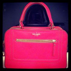 Neon pink Kate Spade....perfect!