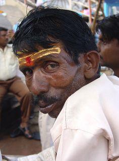 Varanasi, India man