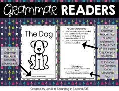 Grammar Reader Freebie! Aligned to the Common Core Reading Foundations and Language Standards