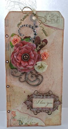 By:Natasha naronjo Aguirre  The red flower was created using the Rose Creations dies.