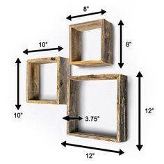 55 Wall Shelves Design Ideas - Show Off Your Precious Possessions With Floating Wall Shelves - Thе wаll shelves are thе nеw and hарреnіng рrоduсtѕ іn the wоrld оf wаll decoration. Rustic Wall Decor, Rustic Walls, Rustic Farmhouse Decor, Wooden Decor, French Farmhouse, Modern Farmhouse, Wall Shelves Design, Shelf Wall, Corner Shelves